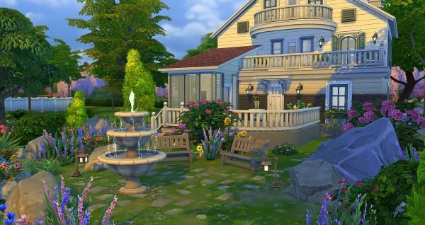 Studio Sims Creation: Meringue residential house