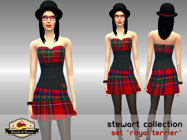 The Sims Resource: Royal Terrier outfit by Mamba Negra