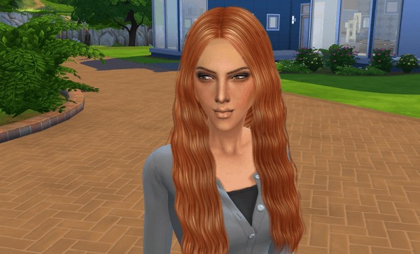 Ihelen Sims: Gera female sims model by Ihelen