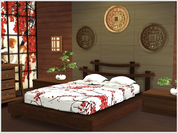 The Sims Resource: Asian bedroom by Severinka