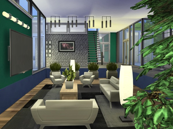 The Sims Resource: Emerald Isle residential house by Chemy