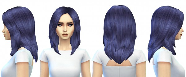 Miss Paraply: JS boutiques  hairstyle retextured