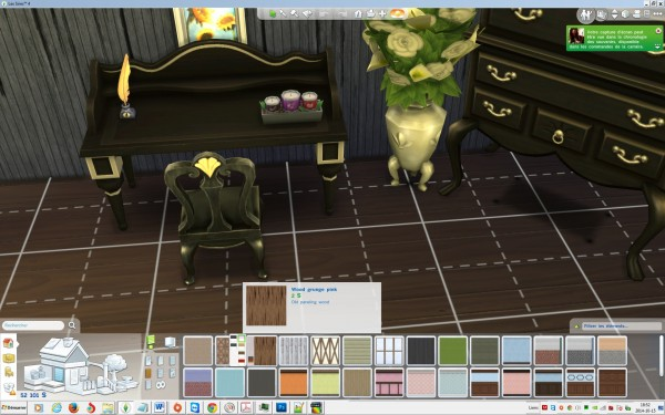 Mod The Sims: Set of 6 old wood panels by sirenedesiles