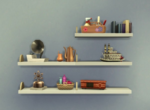 Mod The Sims Clutter Anywhere By Plasticbox Sims 4