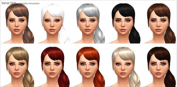 Mod The Sims: Irene Hair  NEW MESH  by Vampire aninyosaloh