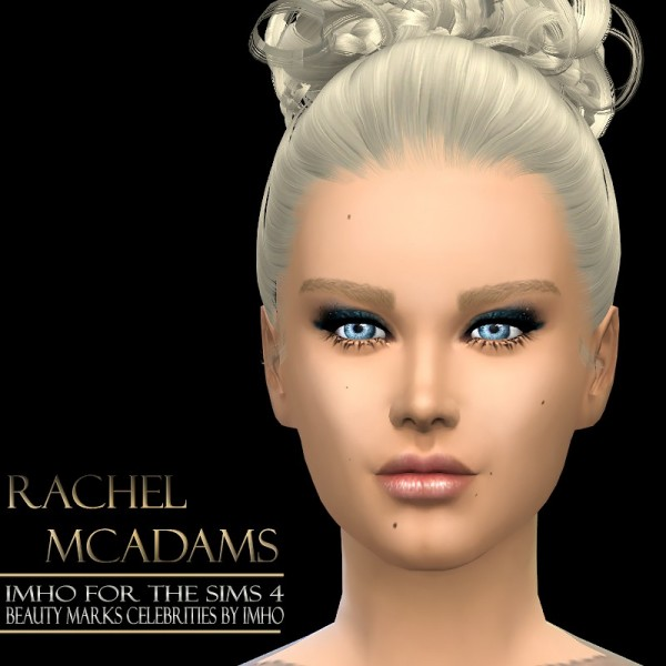 Imho Sims 4 Celebrities Beauty Marks Sims 4 Downloads