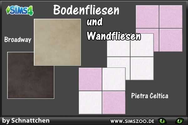 Blackys Sims 4 Zoo: Tiles by Schnattchen