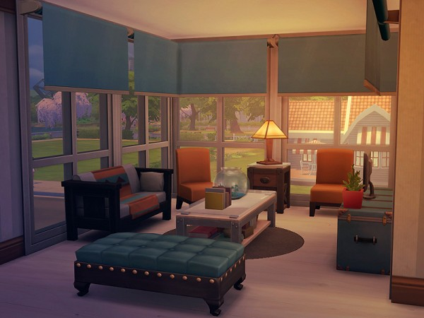 The Sims Resource: Yeshil Cottage Furnished by Ayyuff