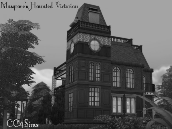 CC4Sims: Musgrave Haunted Victorian House