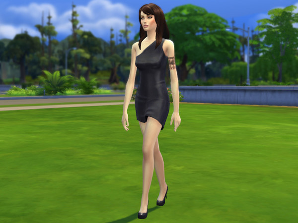 The Sims Resource: My Angelina female sims model by Altea127