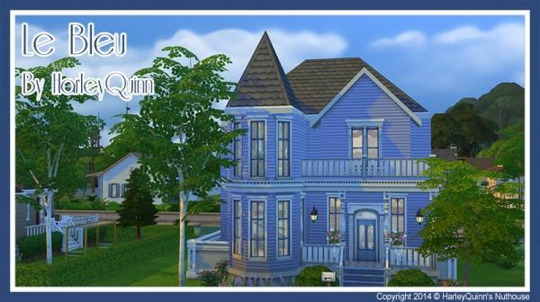 Harley Quinn Nuthouse: Le Bleu residential house