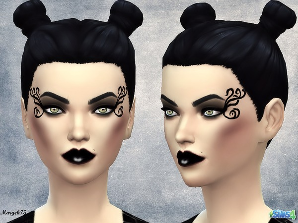 The Sims Resource: Darkside Makeup by Margeh 75