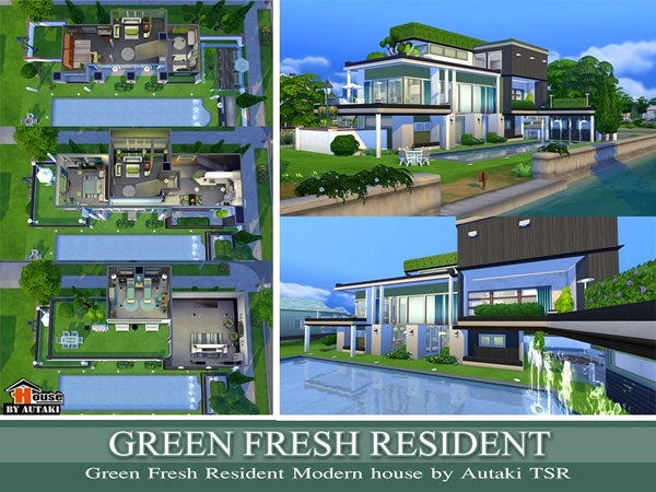 The Sims Resource: Green Fresh Resident by Autaki