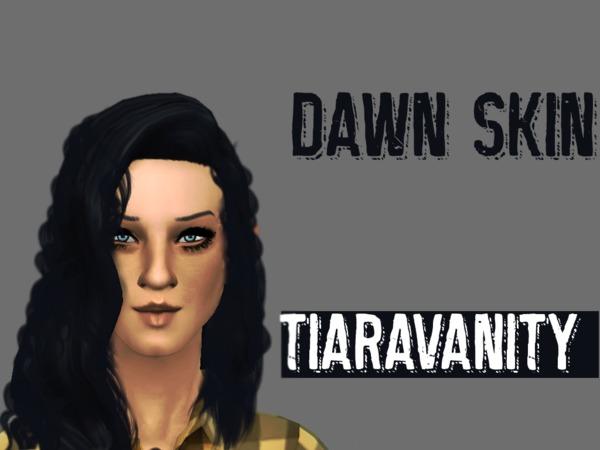 The Sims Resource: Dawn feminine skin by Tiaraelaine