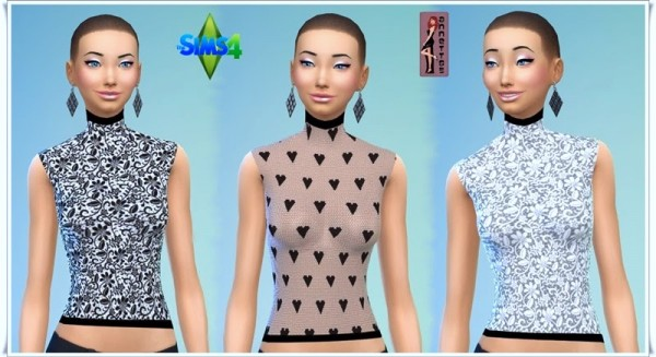 Annett`s Sims 4 Welt: Turtleneck Shirts
