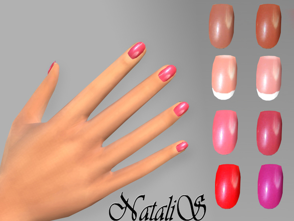The Sims Resource: Short nails by NataliS