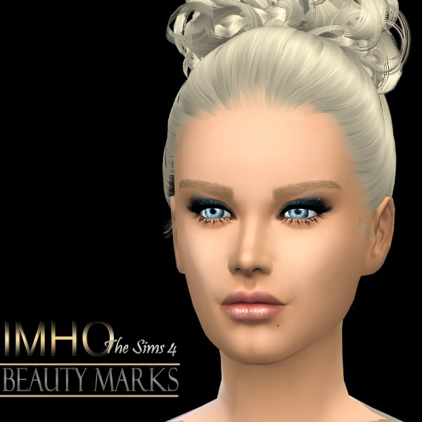IMHO Sims 4: Celebrities beauty marks
