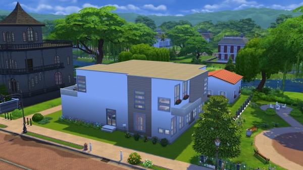 19 Sims 4 Blog: Modern house 2