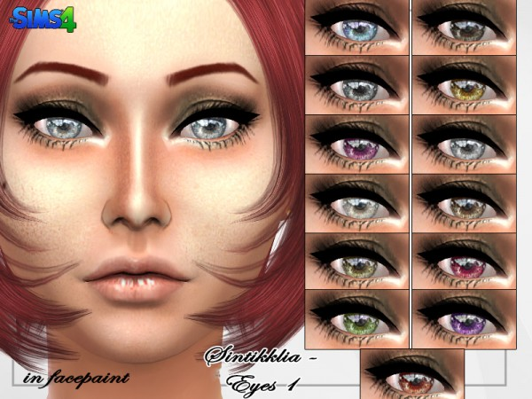 The Sims Resource: Eyes 1 by Sintiklia