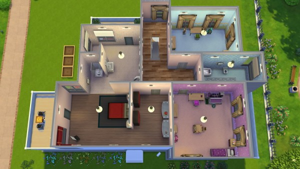 19 Sims 4 Blog Modern house 2 Sims 4 Downloads