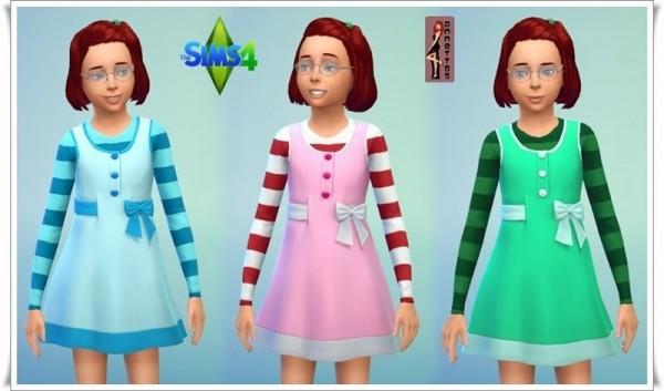 Annett`s Sims 4 Welt: Children long sleeve Dress