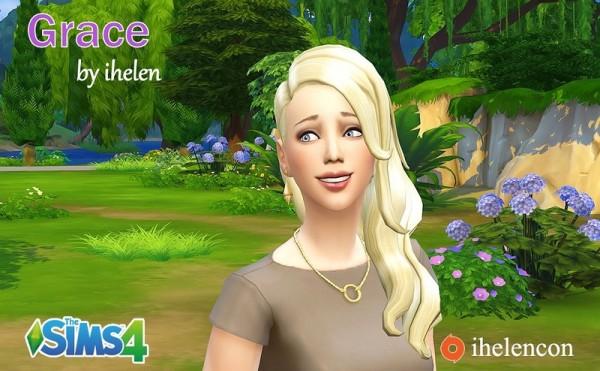 Ihelen Sims: Grace female sims model
