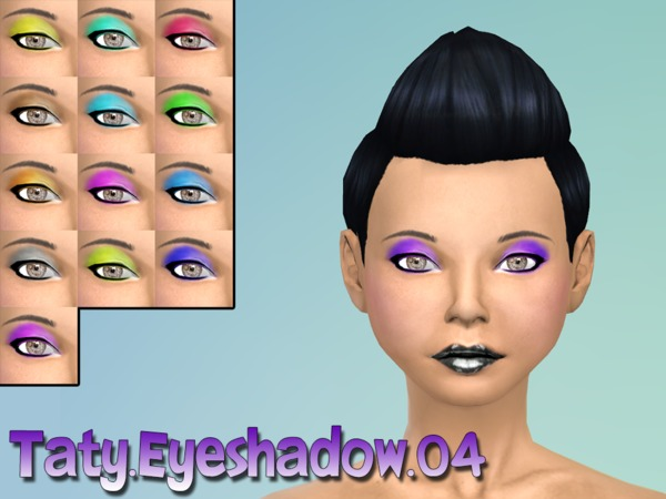 The Sims Resource: Eyeshadow 04 by Taty