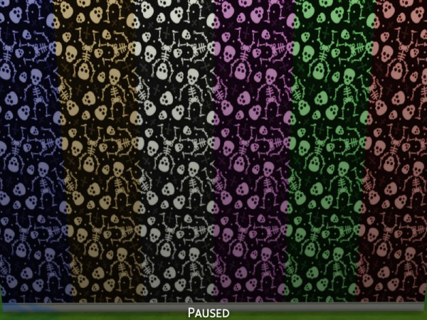 Mod The Sims: Spooky Wallpapers   30 Pack by Snaitf