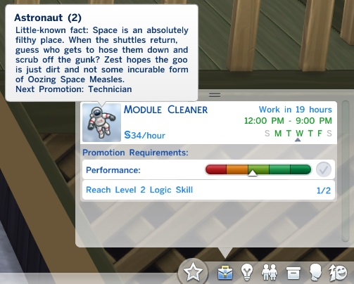 Mod The Sims: Only Skills Needed For Work by ReubenHood