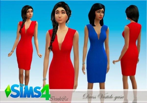 Irinka: Dress Vestido Gasa