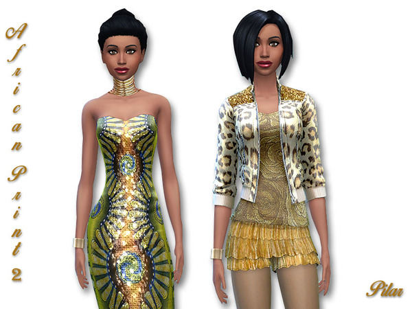 The Sims Resource: African Print 2 by Pilar