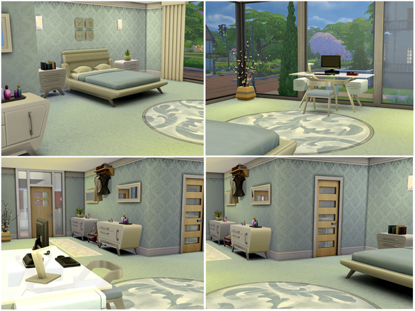 the sims resource: modern living residential housefaryngal