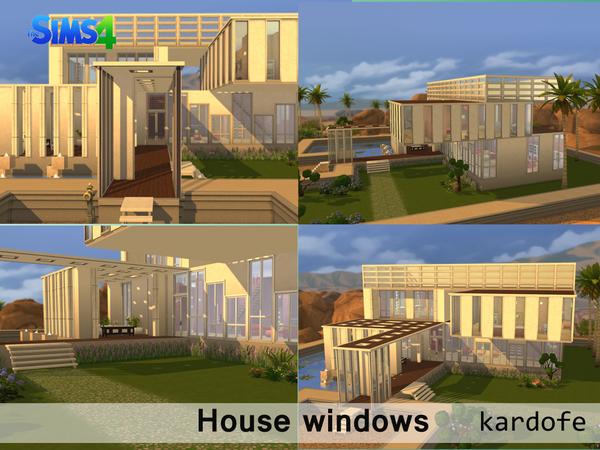 The Sims Resource: House windows by Kardofe