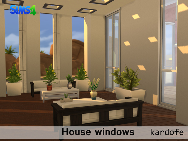The Sims Resource House Windows By Kardofe Sims 4 Downloads