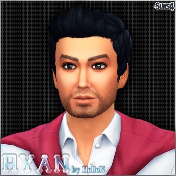 Sims Creativ: Ryan by HelleN