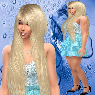 Trudie55: Jasinta Driscol and Izidora Briseno female sims model