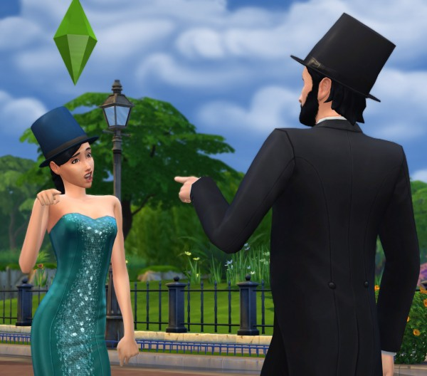 Mod The Sims: Tophats for gentlemen and ladies by count cosmos