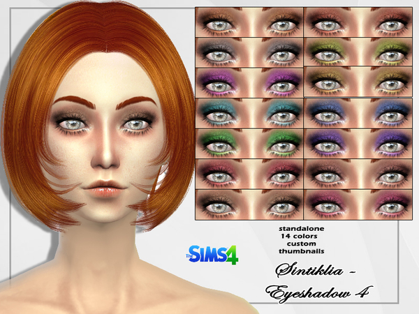 The Sims Resource: Eyeshadow 4 by Sintiklia
