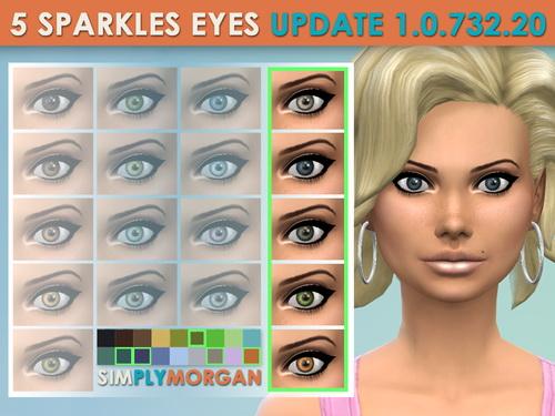 Simply Morgan: 5 Sparkle Eyes