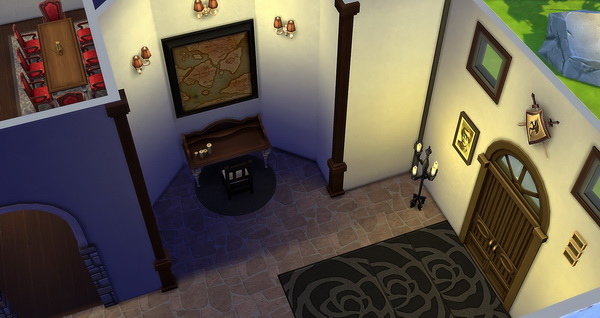 Studio Sims Creation: Draculas Bran Castle