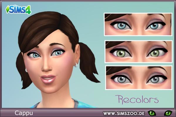 Blackys Sims 4 Zoo: 3 Eye Color Topchica