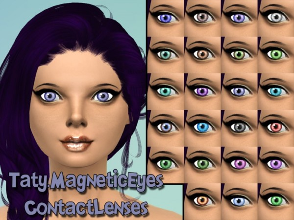 The Sims Resource: Magnetic Eyes by Taty