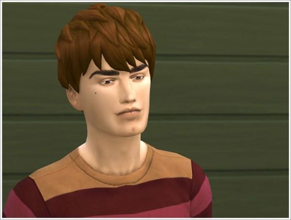 Sims by Severinka: Mason Lengfort male sims model