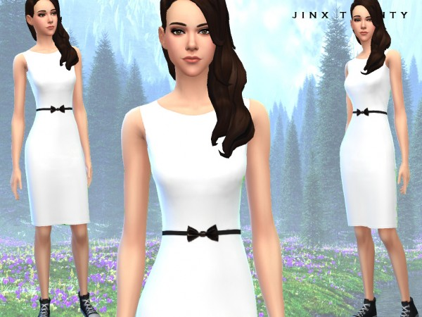 Mod The Sims: Bellas honeymoon dress by JinxTrinity