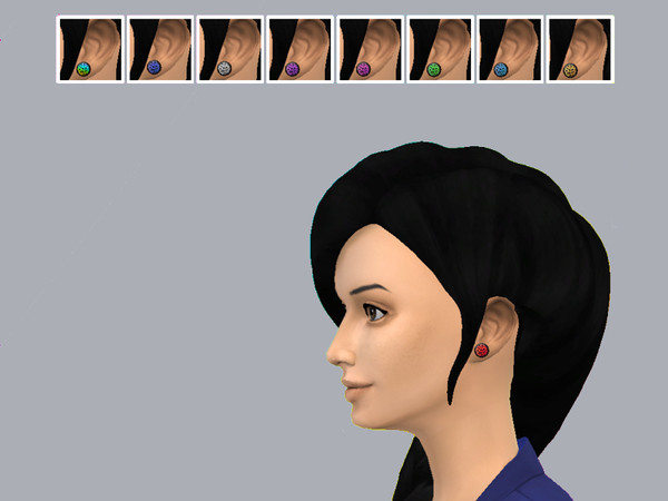 The Sims Resource: Leopard and Zebra Print Plug Set by Drea1219