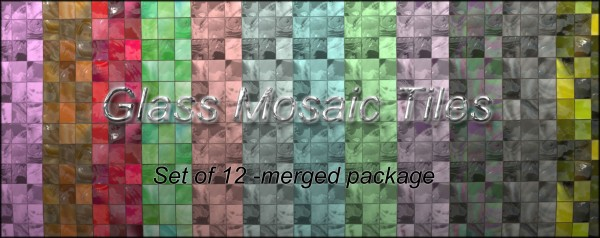 Mod The Sims: Set of 12 glass tiles by malicieuse75