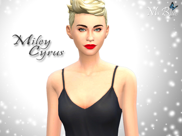 The Sims Resource Miley Cyrus Female Sims Model By Ms
