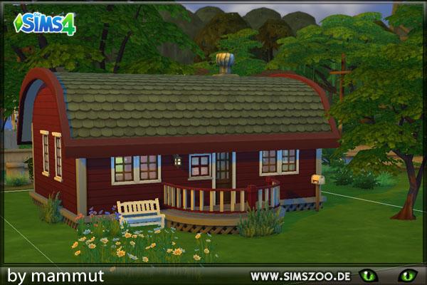 Blackys Sims 4 Zoo: Laubenhaus by mammut