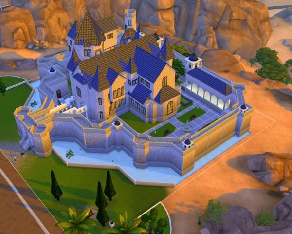 Mod The Sims The Small Kingdom Castle No Cc By Artrui