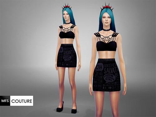 MissFortune Sims: Uprising Dress